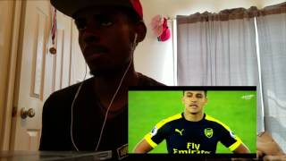 Alexis sanchez crazy dribbling skills and goals reaction!