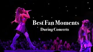 Ariana Grande Best Fan Moments During Concerts