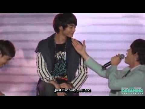 Just the way you are Ver.kyuhyun changmin ft.Minho Engsub