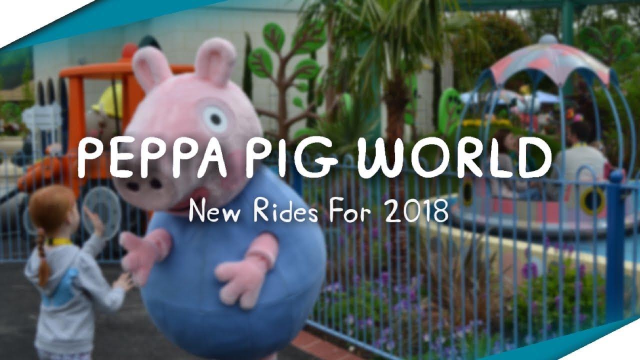 Peppa Pig World New Rides For 2018 At Paultons Park
