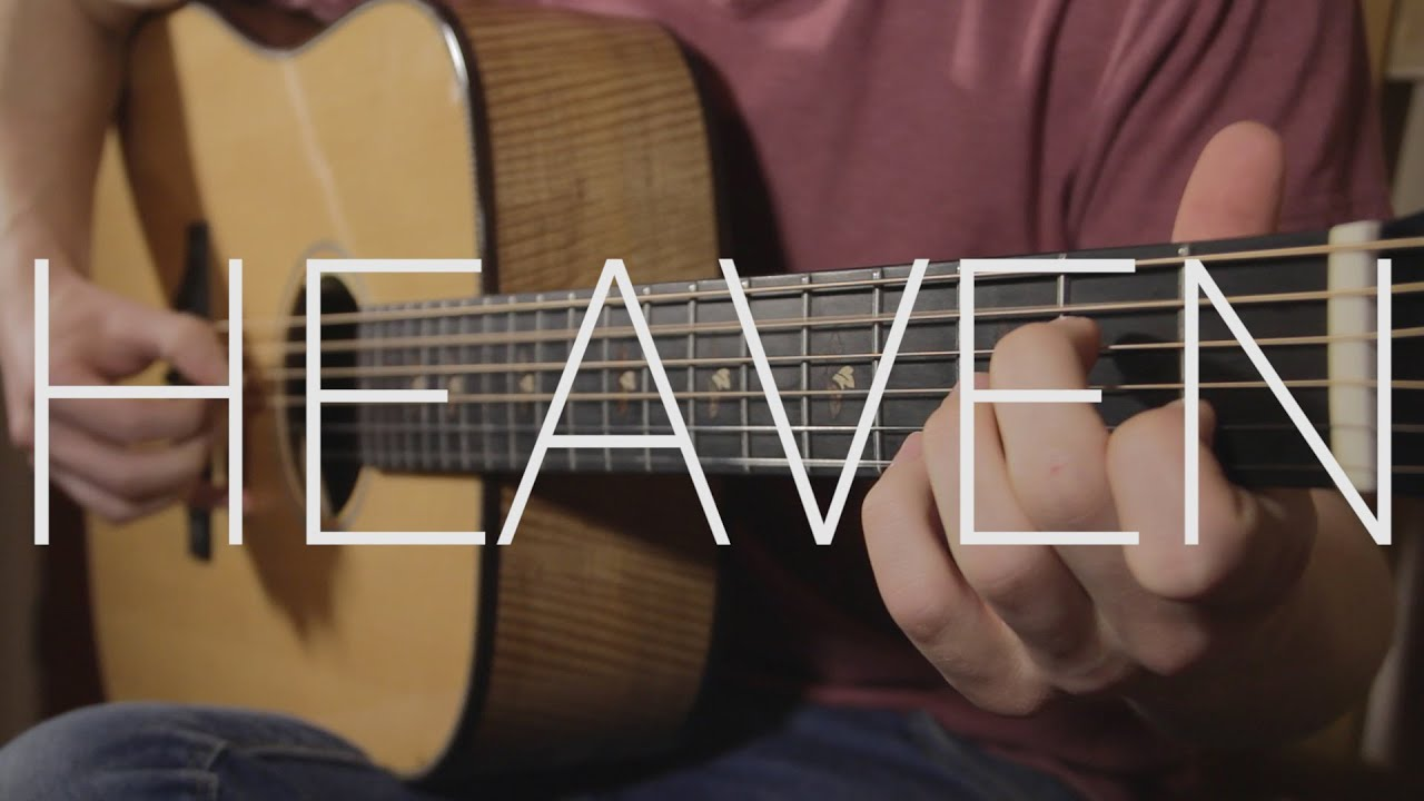 Bryan Adams Heaven Fingerstyle Guitar Cover By James Bartholomew