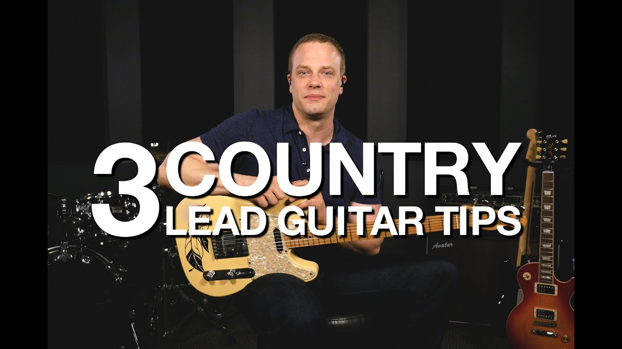 3 country lead guitar tips free guitar lesson youtube. Black Bedroom Furniture Sets. Home Design Ideas