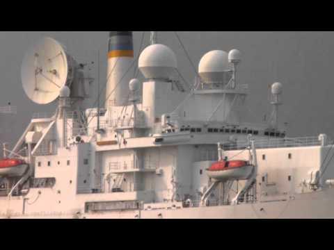 (HD) Naval ship observation island
