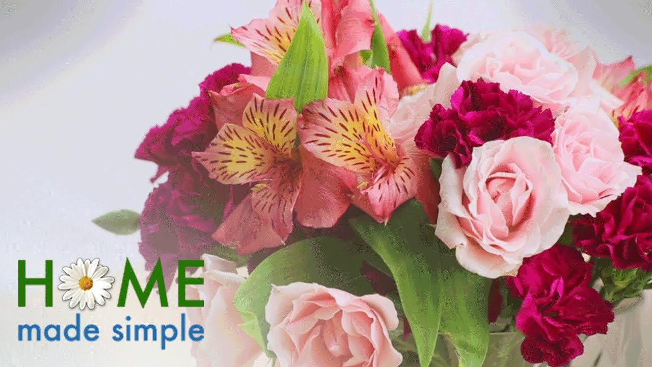 Try this simple trick to create a beautiful flower arrangement try this simple trick to create a beautiful flower arrangement home made simple own izmirmasajfo Images