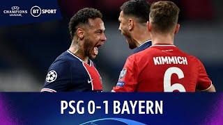 PSG v Bayern Munich (0-1) | Chances Galore As Holders Crash Out | Champions League Highlights