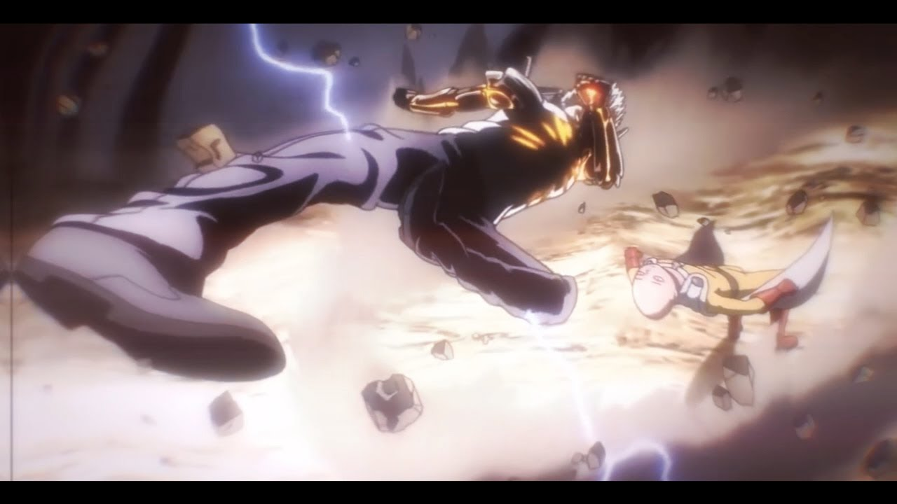 SAITAMA Vs GENOS || One Punch Man #AfterEffects Edit - YouTube