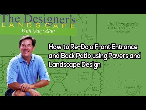 How to Re-Do a Front Entrance Using Pavers