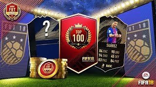 I PACKED A TOTY PLAYER!!! AMAZING FUT CHAMPIONS TOP 100 REWARDS!!