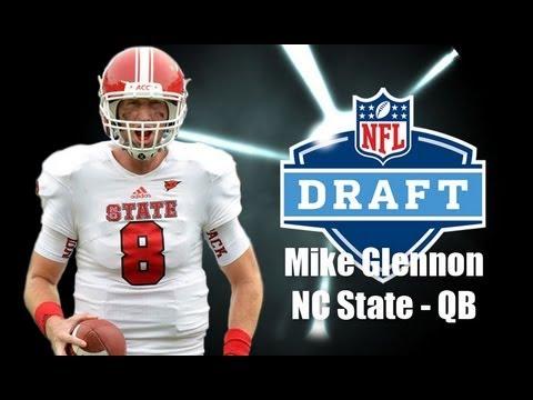 new style 9dd05 2bb90 Mike Glennon - 2013 NFL Draft Profile