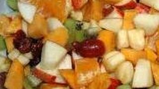 How To Prepare Winter Fruit Salad - Baby Food, Kids Food, Cooking,non Vegetarianfunny Hot Recipes