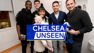 🎥 Hudson-Odoi in Goal for Penalties & Blues Visit Local Hospital 👏 | Chelsea Unseen