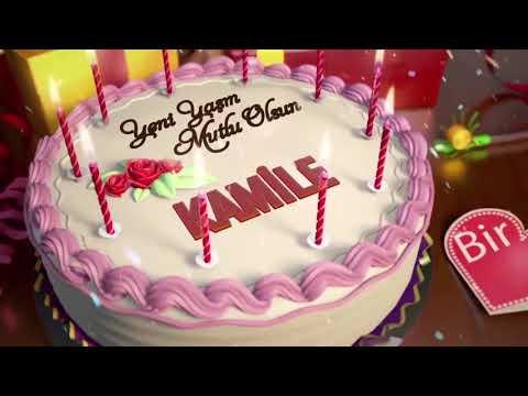 İyi ki doğdun KAMİLE - İsme Özel Doğum Günü Şarkısı