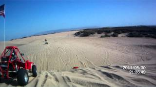 file0013 pismo dunes with small jumps to sand drags fl400 honda pilot beats rzr xp