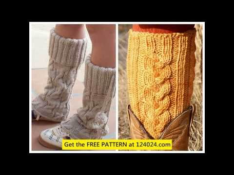 Knitted Leg Warmer Patterns Youtube