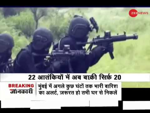 Factual data of security forces vs terrorists in Kashmir valley after ceasefire ended on June 17