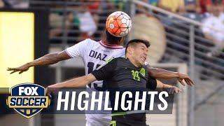 Mexico vs. Costa Rica - 2015 CONCACAF Gold Cup Highlights