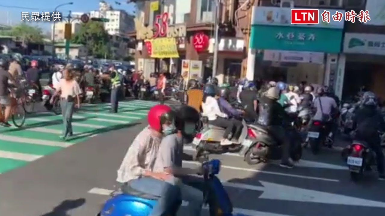 「待轉大富翁」今聚焦台中市大智路 復興路口交通大打結
