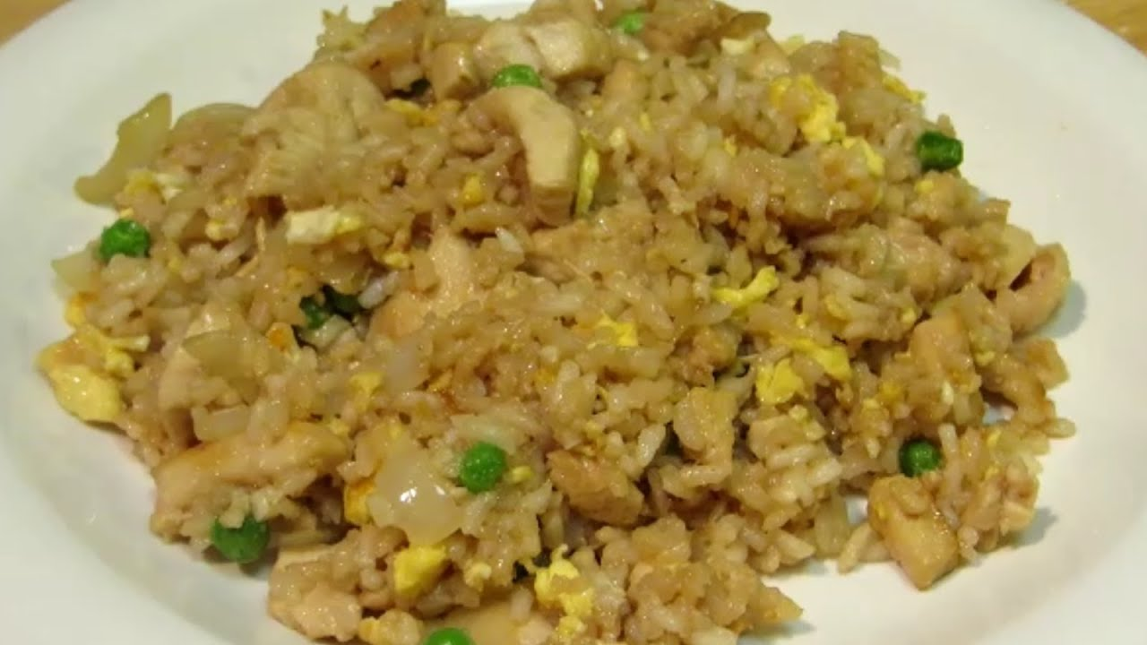 How to make chicken fried rice easy fried rice recipe youtube ccuart Images
