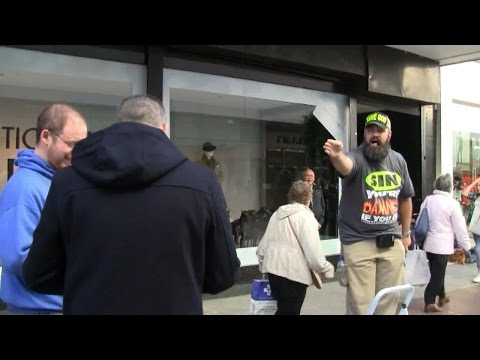 Confronting Irish Easy Believism Antinomians! | Ireland Street Preaching | Kerrigan Skelly
