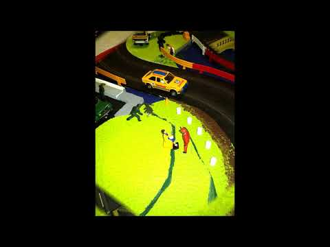 Scalextric rally sprint stage