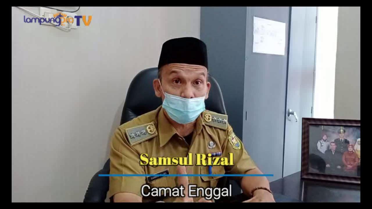 Camat Enggal Bandar Lampung Mengajak Pelaku Usaha Taati Aturan Pembatasan Jam Operasional Kegiatan Usaha Di Masa Pandemi Covid19
