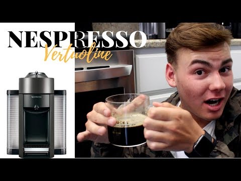 Nespresso Vertuoline - UNBOXING & REVIEW