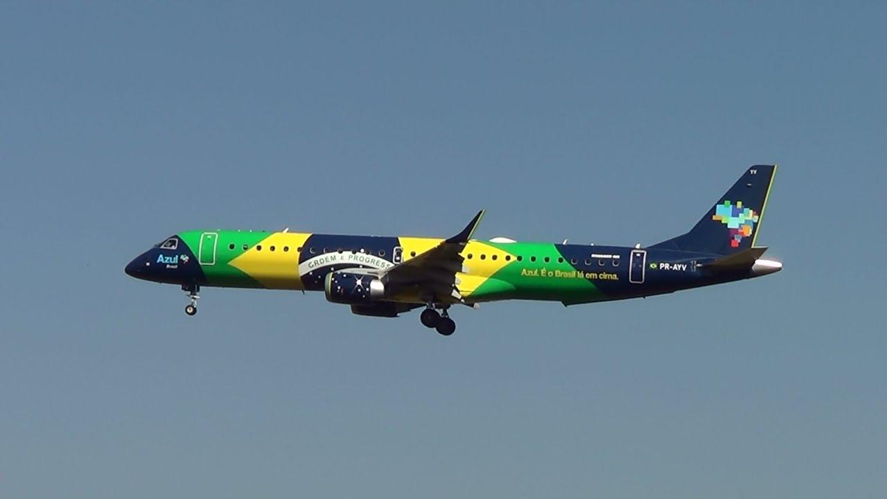 Vinte e nove lindos Aviões pousando no Aeroporto de Confins   #BDB10E 2304x1296 Banheiro De Avião Internacional