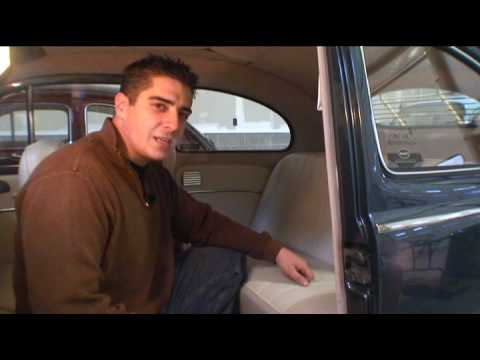 The Classic VW BuGs Beetle How to Remove Seats in Vintage Volkswagen