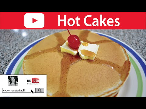 HOT CAKES PASO A PASO | Vicky Receta Facil