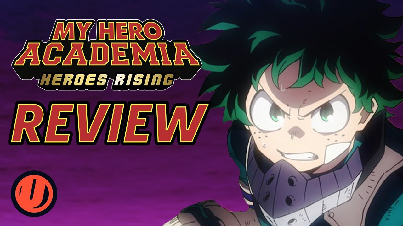 Watch My Hero Academia Heroes Rising Movie Breakdown 2020