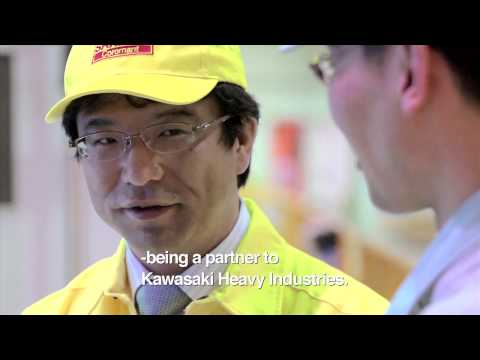 Sandvik Coromant customer film - Kawasaki Heavy Industries Ltd