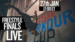 USA Parkour Cup: Freestyle Competition (Live Stream)