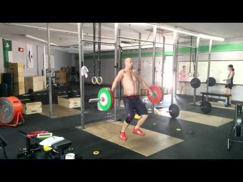 Willie McLendon 102kg Power Pos Snatch  7/3/15