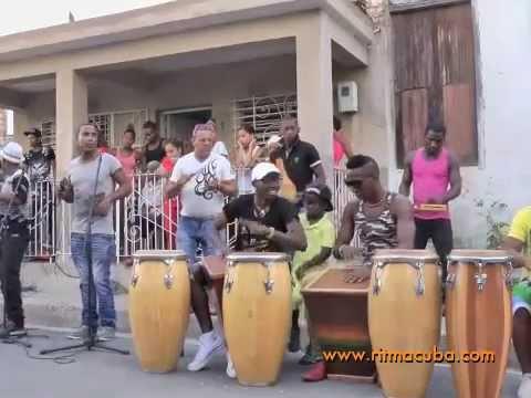 Rumba : Obba Tuke en Callejuela - Santiago de Cuba 2014