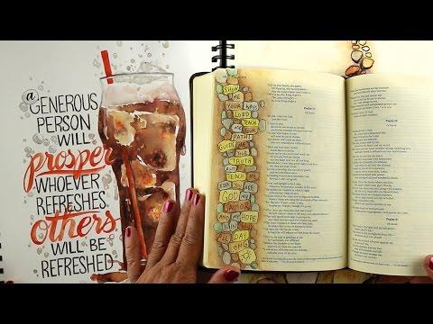Developing Bible Journaling ideas