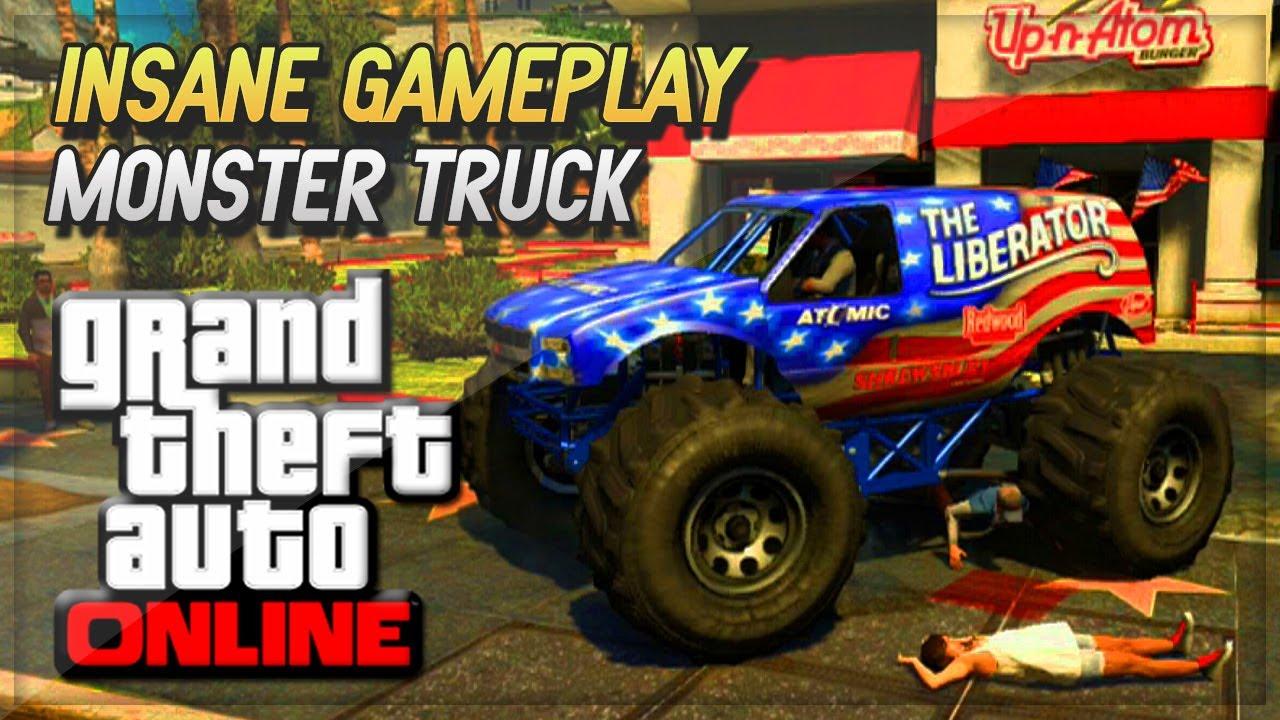 how to buy monster truck gta online