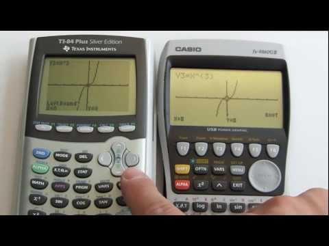 TI-84+ silver vs. Casio fx-9860g2