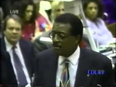 O.J.  Simpson Trial Johnnie Cochran Closing Argument - Part 9