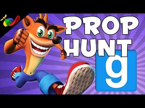 Garry's Mod ITA Pro Hunt (GMOD) - Crash Bandicoot W /Coscino & PasagaTV