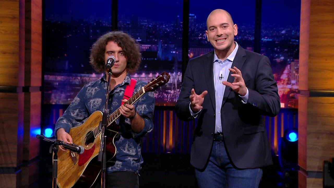 """Шоуто на Николаос Цитиридис: Дани Стайков изпълнява """"За да те забравя"""" на английски"""