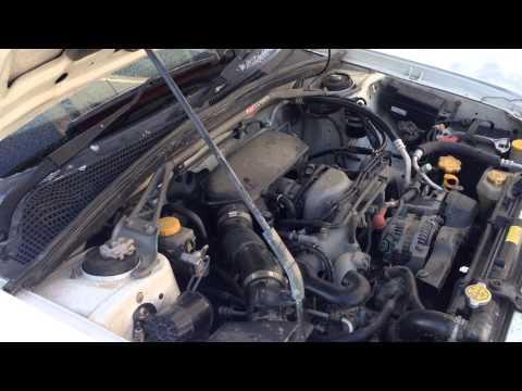Фото к видео: Зимний стук двигателя Subaru EJ203