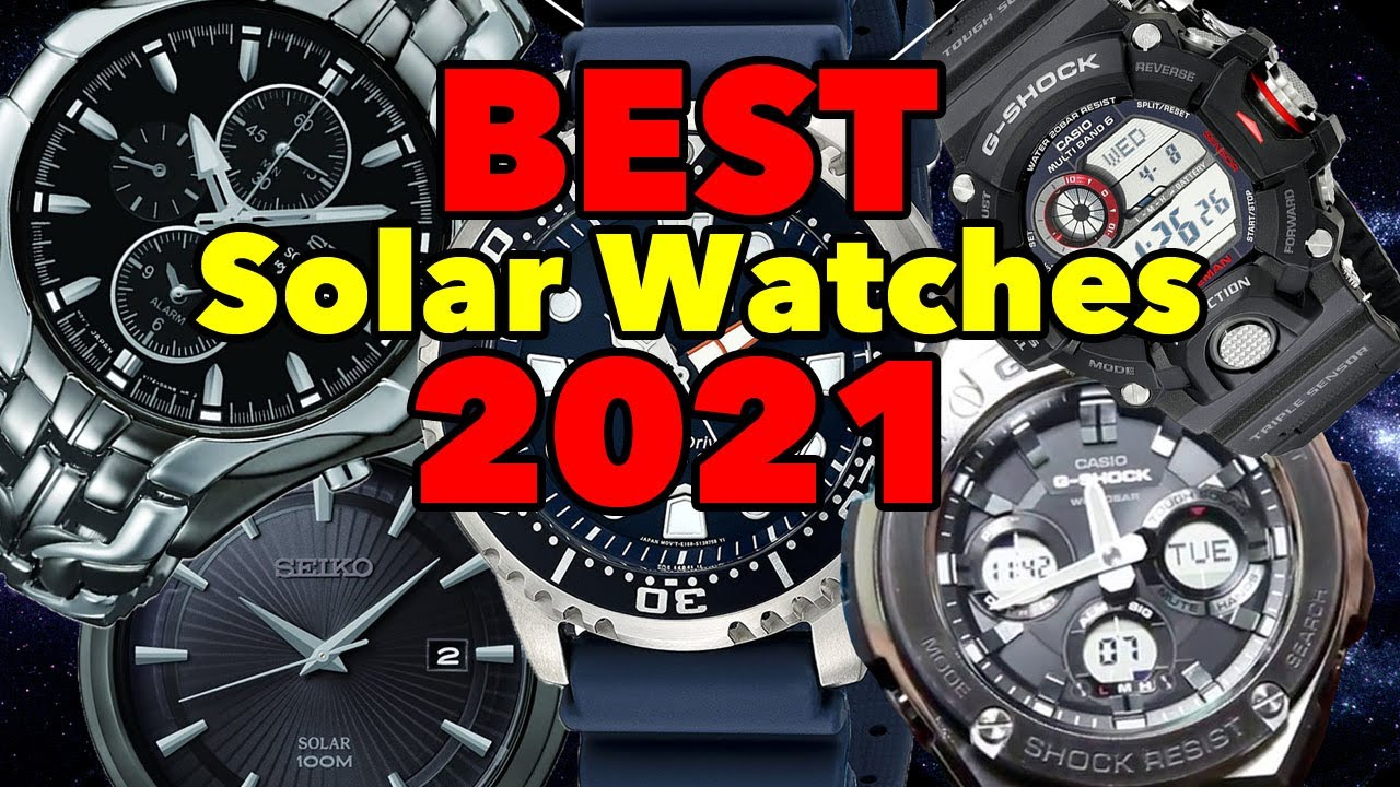 5 Best Solar Watches 2021