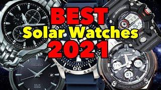 5 Best Solar Watches 2021