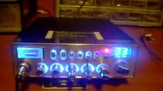 UNIDEN PC 78 ELITE DONE IN BLUE WITH MOSFET FINAL ECHO TALKBACK RK-56 MIC  SUPER TUNE by Allen Ward