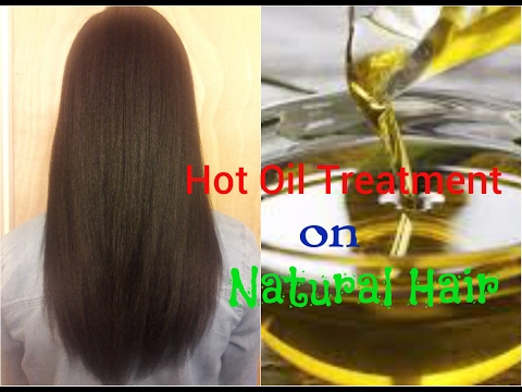 Doing Hot Oil Treatment On Natural Hair