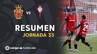 Resumen de RCD Mallorca vs RC Celta (5-1)