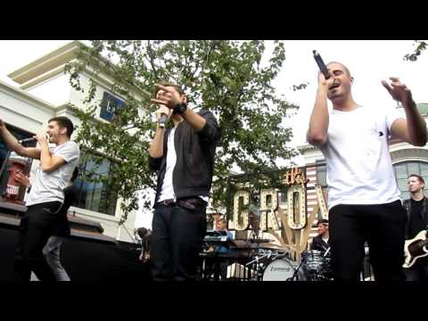 The Wanted - Lightning (live)