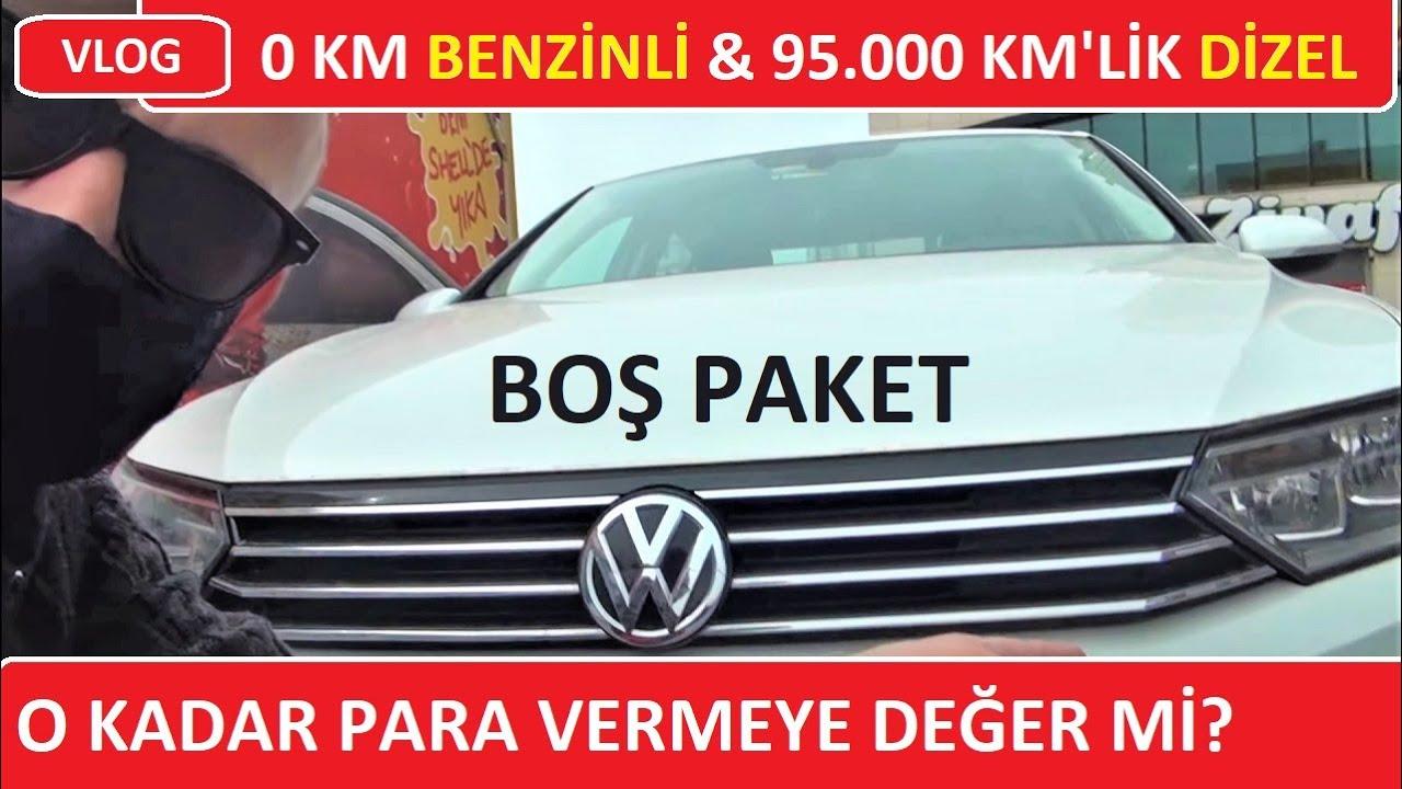 0 km benzinli VW Passat bıraktık, 95.000 km dizel Passat aldık/Vlog-İstanbul-Ankara-İstanbul