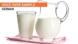 Milch Werbung • Annabell Osorio (German Female Voice)