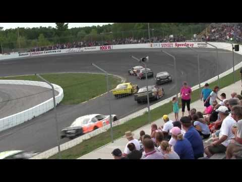 Sunset Speedway Super Stock Heat 2 2016 08 20